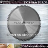 "Fswnd SKS-51 Body Material Wear-resisting TCT Circular Sawblade For ""V"" Cutting/Ripping With Wing"