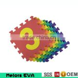Melors eva foam non-smell education alphabet numbers puzzle jigsaw mat water proof baby play mat