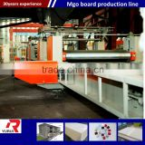 mgo board making machine production line/china factory fireproof waterproof mgo board making machine