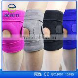 alibaba express knee support sleeve with double pull volleyball knee guard for knee Pain Relief