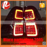 Refit auto body parts LED smoke cover LED tail lamp for Toyota Hilux Revo 2015 2016 up accessories