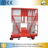 Single mast & double mast telescopic aluminum alloy lift table / Diesel foldable man lift aluminum ladders