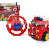 Battery operated Cartoon R/C Car Radio Control Toy for Toddlers Thomas cartoon mini rc car with light and music