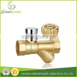 Magnetic Locking Filter Ball Valve