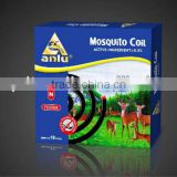 mosquito coil raw material mosquito incense wih long burning time and high effectiveness