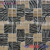 2015 New Type Laminated Mixed Metal Mosaic Tiles for Hotel Projects/Bar Decoration/Wall Tiles