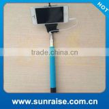 2015 High quality colorfulcheapest price monopod selfie stick for ipone 6 camera