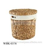 Very nice storage basket - water-hyacinth products