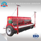 2016 type 2BXF-24 24 rows trailed type wheat seeder, seed drill, wheat, barley, grass, rice seed drill with hydraulical marker