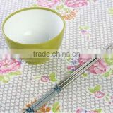 new design PVC coated cotton fabric for table cloth/bags