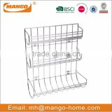 Standing Chrome Plating Metal Wire toilet paper holder