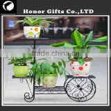 2015 Hot sale Flower Arranging Iron Flower Stand Cast Iron Flower Stands