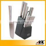Wholesale Top Quality 13pcs All Steel The Kitchen Knives