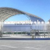 Fabric Storage Building Structure , Trussed warehouse tent , Aircraft Hangar
