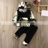 Autumn Spring Infant Clothes Baby Clothing Sets Baby Boys Camouflage Camo Hoodie Tops Long Pants 2Pcs Outfits Set Clothes