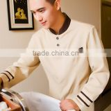 Juqian bulk cheap price designer men's hotel and restaurant uniform housekeeping staff designs