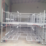 Industrial Brake Auto Spare Parts Warehouse Storage Cage