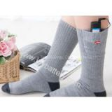 Rechargeable heated socks thermal socks/ electric socks/battery heated socks