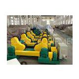 HGZ40 40T Self-alignment / Self-aligned Welding Rotator With Polyurethane Roller / PU Wheel