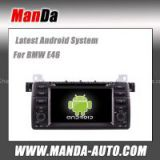 android 4.4 car stereo for BMW E46 M3 X3/ Z3/ Z4 wifi 3g car multimedia audio player gps navigation auto parts