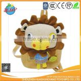 stuffed lion plush backpack bag