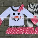 wholesale baby clothes christmas snowman kids clothing store garments factory clothes cheap kids sets