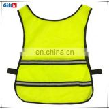 Hot Selling High Visibility Reflective Warning polyester mesh jersey fabric Vest