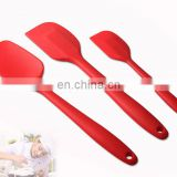 3 in 1 set Food grade silicone butter scraping knife, cream scraper, silicone spatula set for pastry baking cooking