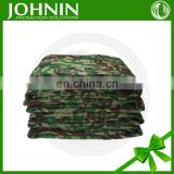 Soft and comfortable fleece green camouflage blanket