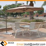2.7 Meter Steel Iron Duplex Sun Umbrella Patio Umbrella Garden Parasol Sunshade Outdoor Cover for Coffee Shop