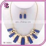 New arrival Euramerican style short necklace jewelry set