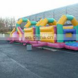 50ft x 10ft inflatable assault course