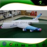 Advertising Replica Inflatable Small Jet , PVC Sealed Inflatable Airplane , Hanging Inflatable Aircraft Balloon