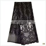 Black high quality newest french net lace fabric for wedding dress from china BH16032703