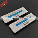 promotional cheap price pvc name badge manufacturer from china