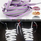 2015 New design Reflective shoelace with low price and high quality from Yolite manufacture