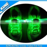 Smart shoe laces flashing led shoes lace on wholesale