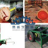 Wood Log Cutting Machine