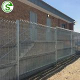 Galvanized 358 wire fence export to Port Elizabeth South Africa
