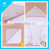 Custom Design Bamboo Baby Blanket Hooded Towel                                                                         Quality Choice