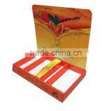 Stackable custom design cardboard counter display box/jewelry display box/cardboard counter top display boxes