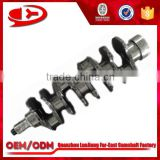 japan auto spare parts td27 Diesel Engine Crankshaft Manufacturers