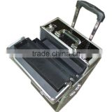 professional cosmetic trolley cases for hard train case with nail beauty