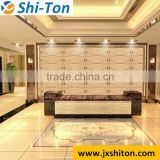 China Building Supply 3D interior wall paneling PU Leather Wall Decorative Leather Wall Panels