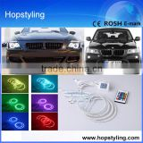 24 months warranty LED Car headlight Angel Eyes for E36/E38/E39/E46 projector RGB Angel Eyes