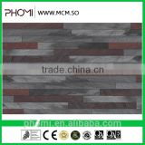 Artificial stone flexible modified clay material breathability durability decorative quartz slab for wall cladding