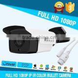 4/6/8/12mm fixed lens H.264 2.0MP HD network camera ip ir color cmos camera with cctv power supply