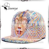 3D Printing pattern Men Women Sports Hats Baseball Cap Fashion trends Hip Hop Snapback Caps