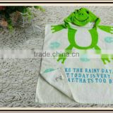 fashion animal hood beach towel with hood