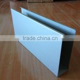 Top quality extruded anodized aluminum channel price (aluminum channel, aluminum ceiling tiles)